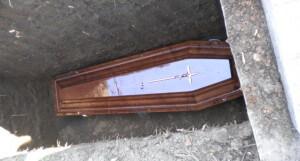 cimitir sicriu
