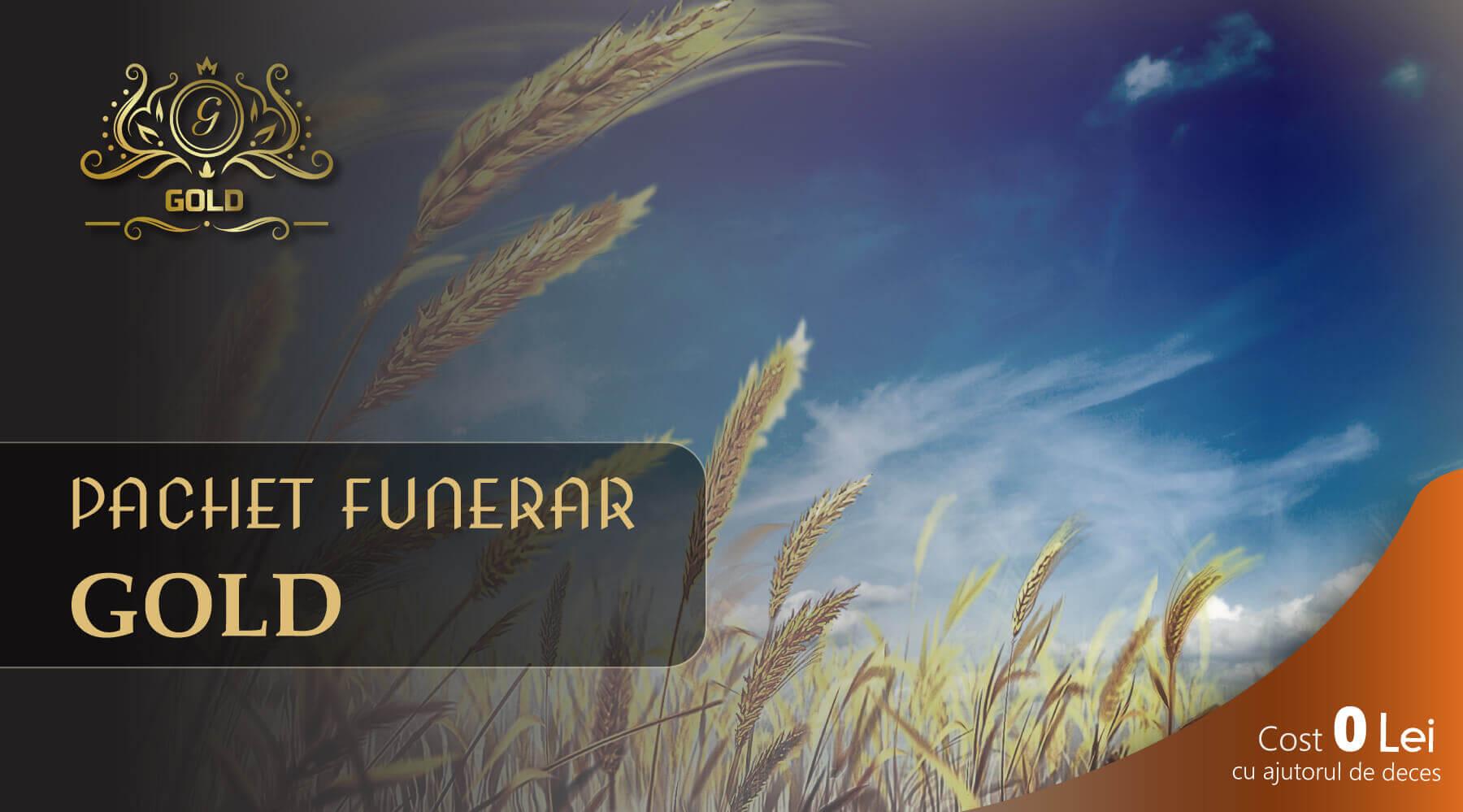 pachet funerar gold