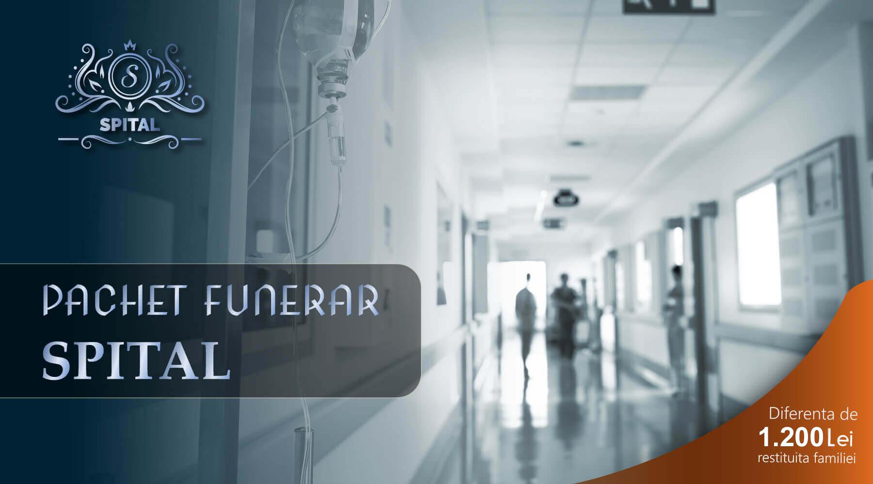 pachet funerar pentru spital