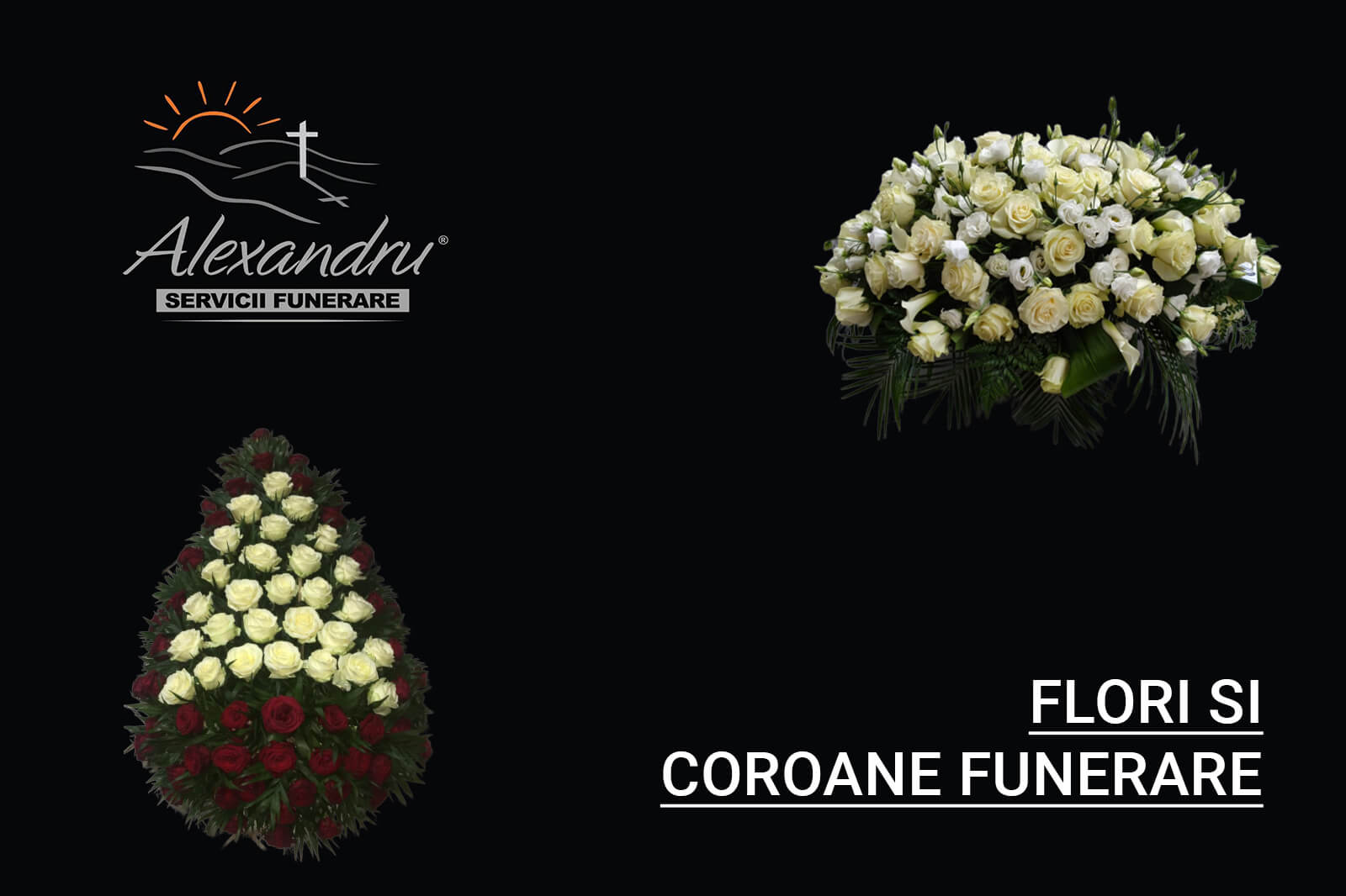 Cu ce flori sa mergi la priveghi sau inmormantare